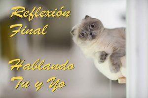 No Reencarnar - Reflexión Final www.vueloalalibertad.com